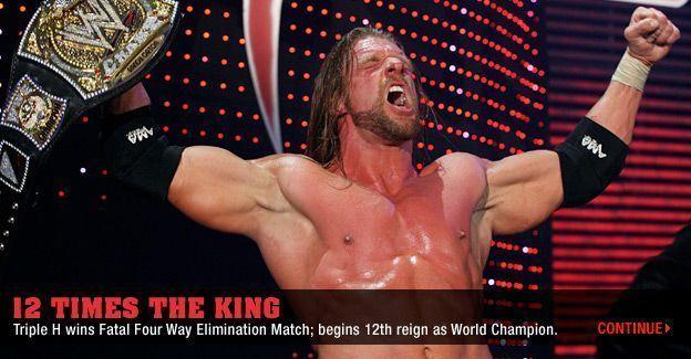 Le nouveau champion de la WWE