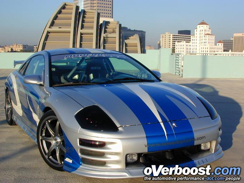 voici une Mitsubishi Eclipse